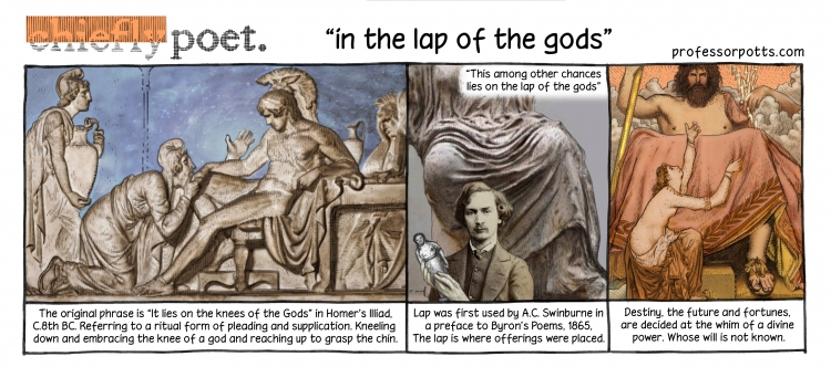 lap of the gods