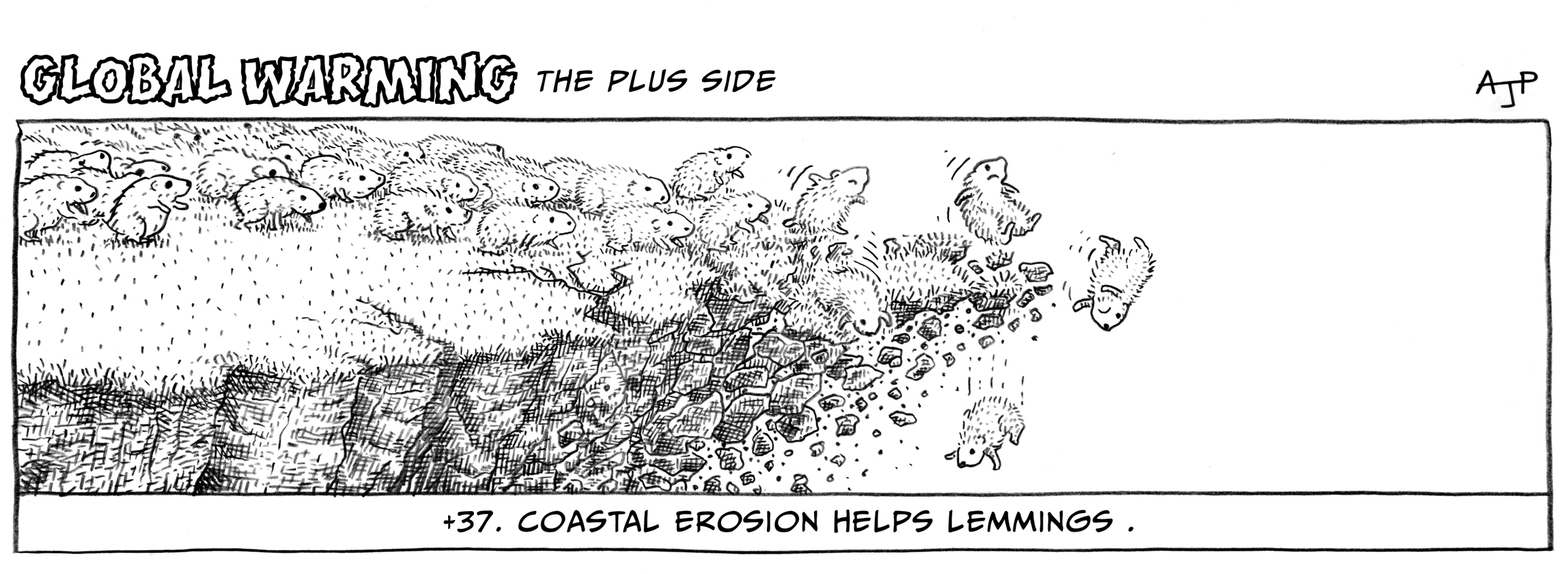 Coastal erosion helps