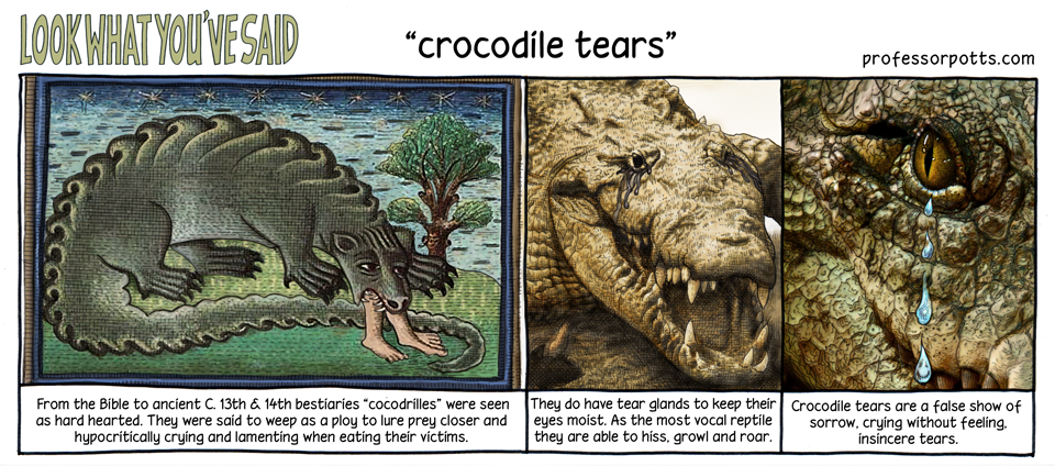 crocodile-tears