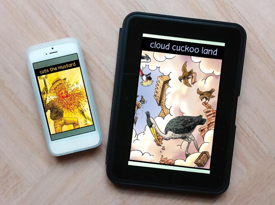 Kindle&iphone