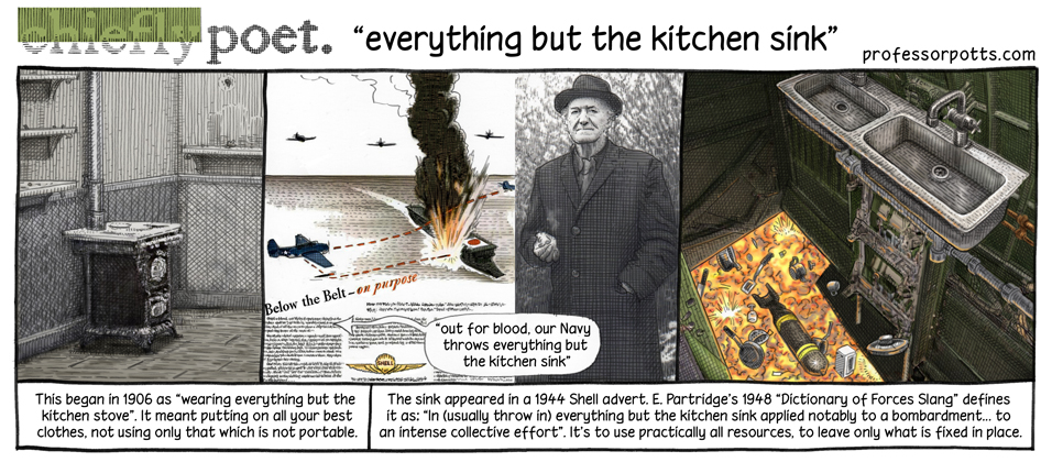 Everything But The Kitchen Sink Professor Potts Aidan Potts